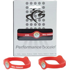Silicone Performance Bracelet for Promotion