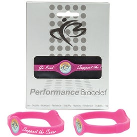 Imprinted Silicone Performance Bracelet