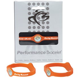 Silicone Performance Bracelet with Your Slogan