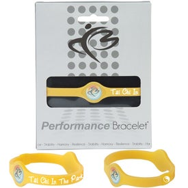 Custom Silicone Performance Bracelet
