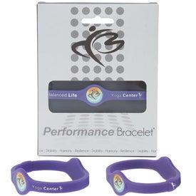 Advertising Silicone Performance Bracelet