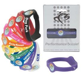 Logo Silicone Performance Bracelet