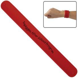 Imprinted Silicone Slap Bracelet