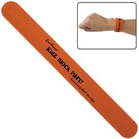 Promotional Silicone Slap Bracelet