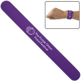 Monogrammed Silicone Slap Bracelet