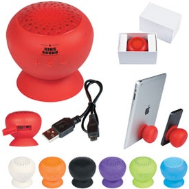 Silicone Speaker with Phone Stand (250 mAh)