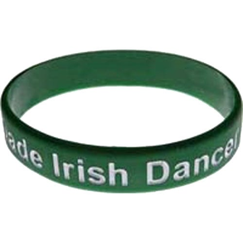 Green Color Filled Silicone Wristband