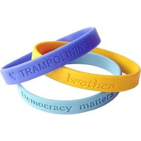 Silicone Wristband for Marketing