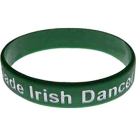 Color Filled Silicone Wristband for Your Church