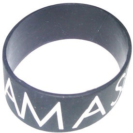 Monogrammed Silicone Wristband