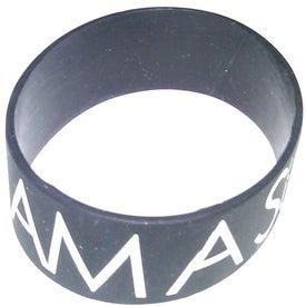 "Printed Silicone Wristband (1"")"