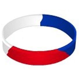 Segmented Silicone Wristband for Your Organization