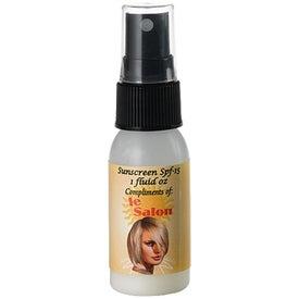 Silver Fox Sunscreen SPF15 Spray