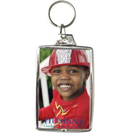 Silver Snap-In Keytags