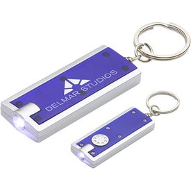 Simple Touch LED Key Chain Branded with Your Logo