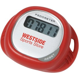 Simple Shoe Pedometer with Your Slogan
