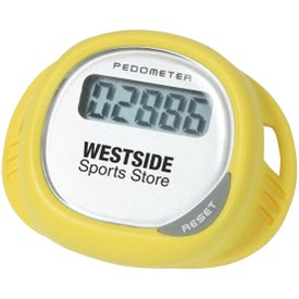 Imprinted Simple Shoe Pedometer