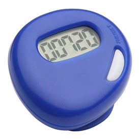 Simple Step Pedometer Imprinted with Your Logo