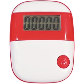 Simple Step Pedometer Printed with Your Logo
