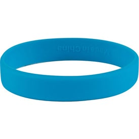 Advertising Single Color Silicone Bracelet