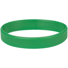 Single Color Silicone Bracelet for Marketing