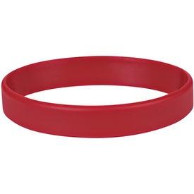 Printed Single Color Silicone Bracelet
