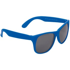 Single Tone Matte Sunglasses for Advertising
