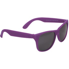Promotional Single Tone Matte Sunglasses