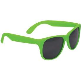 Promotional Single Tone Matte Sunglasses