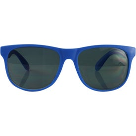 Customized Single Tone Matte Sunglasses