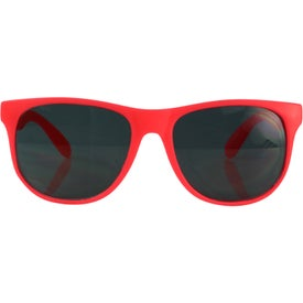 Company Single Tone Matte Sunglasses