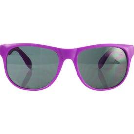 Company Single Tone Matte Sunglasses