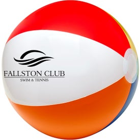 Six Color Beach Ball