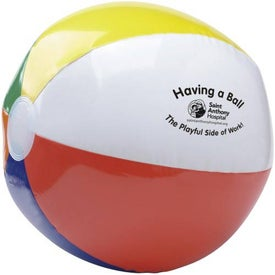 "Six Color Beach Ball (24"")"