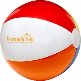 """Six Color Beach Ball (6"""")"""