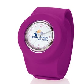 Slap On Watch Analog Branded with Your Logo