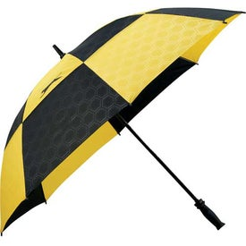 Slazenger Logo Manual Vented Umbrella Branded with Your Logo