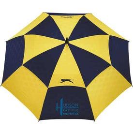 Promotional Slazenger Logo Manual Vented Umbrella