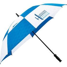 Logo Slazenger Logo Manual Vented Umbrella