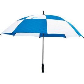 Slazenger Logo Manual Vented Umbrella with Your Slogan