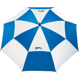 Printed Slazenger Logo Manual Vented Umbrella
