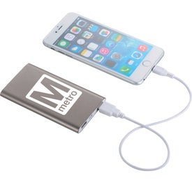 Sleek Aluminum Power Bank (4000 mAh)