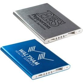 Sleek Design 2000mAh Aluminum Power Bank
