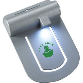 Slide Book Light with Your Slogan