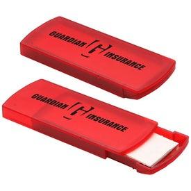 Slide Right Bandage Dispenser with Your Slogan