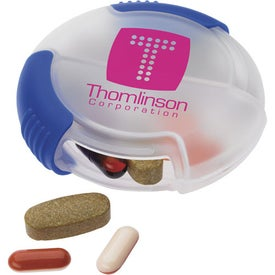 Slider Pill Box Branded with Your Logo