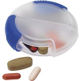 Imprinted Slider Pill Box