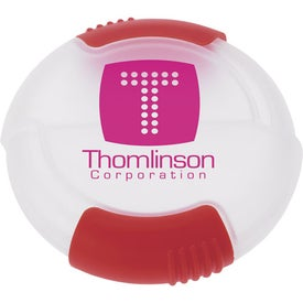 Slider Pill Box Imprinted with Your Logo