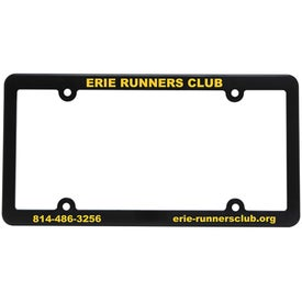 Slim Line License Plate