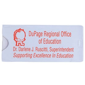 Slim Magnifier/Ruler Branded with Your Logo